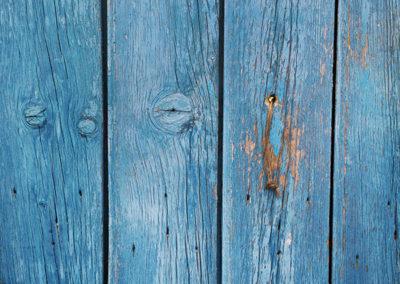 El azul