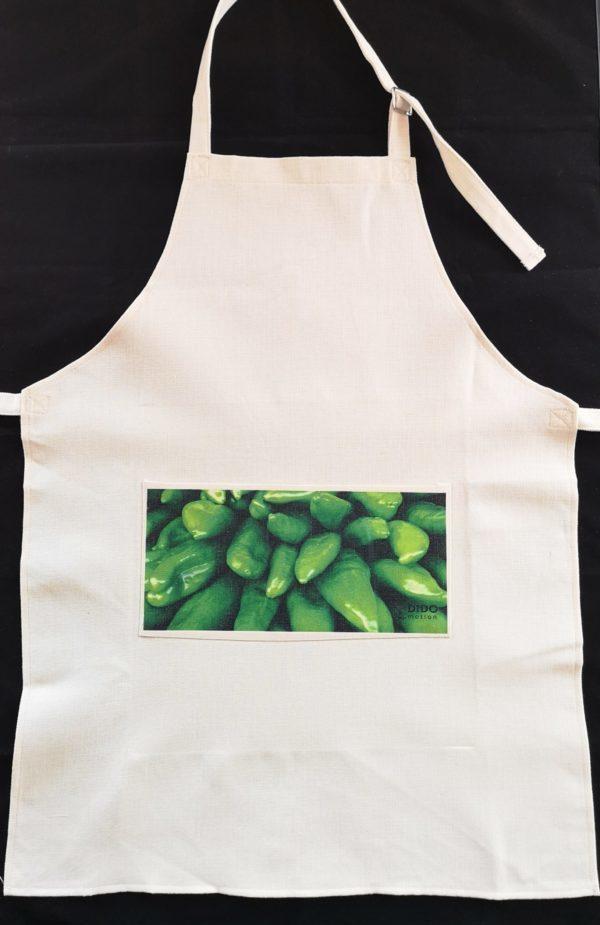 delantal-foto-pimientos-verdes-crudos